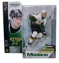 Mike Modano - Dallas Stars White Jersey Variant