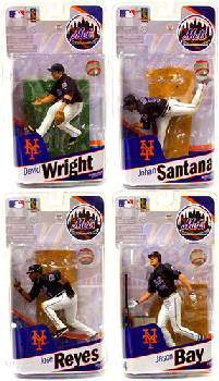 Elite MLB Team NY Mets - Set of 4