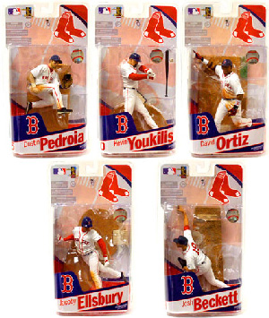 Elite MLB Teams Red Sox - Set of 5