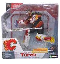 Roman Turek - Calgary Flames Black Jersey Variant
