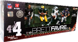 NFL 4-Pack: Brett Favre TRU Exclusive Through The Ages