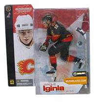 Jarome Iginla Series 4 - Calgary Flames Black Jersey Variant