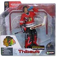 Jocelyn Thibault - Chicago Blackhawks Red Jersey Variant
