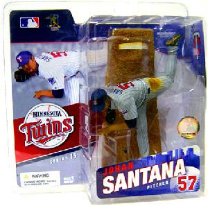 MLB 15 - JOHAN SANTANA - Grey Jersey Variant