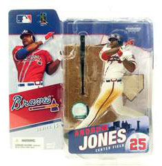 ANDRUW JONES 2 Series 15 White Jersey Variant
