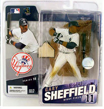 Gary Sheffield - Yankees - White Jersey Regular
