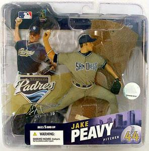 Jake Peavy Grey Jersey Variant