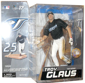 Troy Glaus - Blue Jays - Series 17 - NON MINT PACKAGE