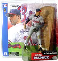 Greg Maddux - Braves - Grey Jersey Variant