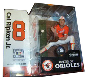 Cal Ripken Jr. Orange Jersey Variant