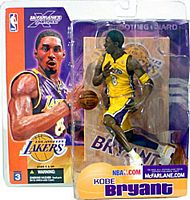 Kobe Bryant Series 3 Yellow Jersey Variant