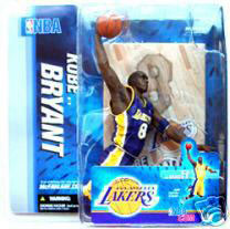 Kobe Bryant Series 9 Purple Jersey Variant - Lakers