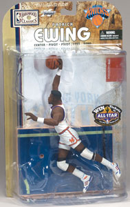 Patrick Ewing White Jersey - Knicks