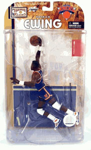 Patrick Ewing Blue Jersey Variant