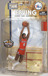 Julius Erving 2 - Series 4 - 76ers