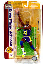 NBA Legends 5 - Magic Johnson - Purple Jersey - Lakers
