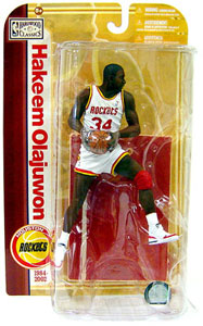 NBA Legends 5 - Hakeem Olajuwon White Jersey Variant