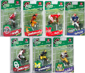 Mcfarlane Sports College Football - Series 3 Set of 7