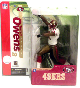 Terrell Owens Retro 49ers Jersey Variant