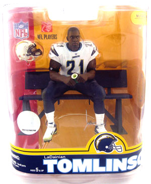 LaDainian Tomlinson 4 - White Jersey Variant
