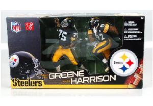 NFL 2-Pack Steelers - James Harrison and Mean Joe Greene