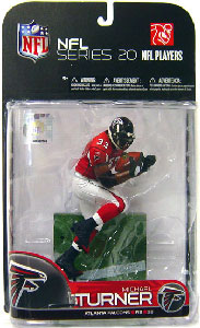 NFL 20 - Michael Turner - Falcons - Red Jersey Variant