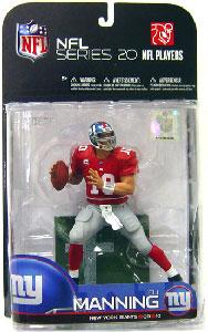 NFL 20 - Eli Manning 3 - Giants - Red Jersey Variant