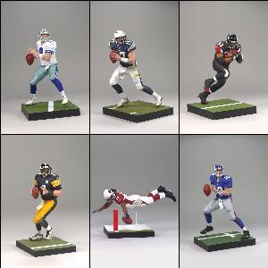 Mcfarlane Sports NFL Series 20 - Set of 6