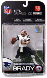 NFL Series 22 - Tom Brady 3 - New England Patriots