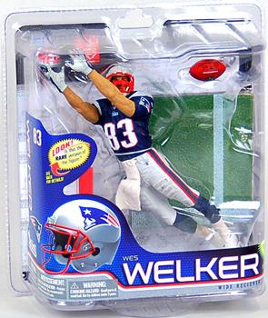 NFL Series 26 - Wes Welker - New England Patriots
