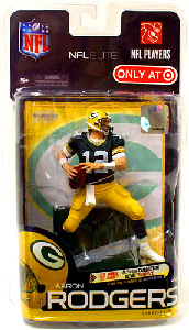 NFL Elite Series 1 - Aaron Rodgers - Green Jersey - Packers