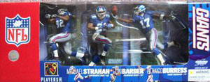 Mcfarlane Exclusive NY Giants 3-Pack