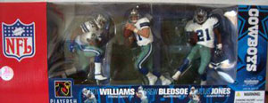 Mcfarlane Exclusive Dallas Cowboy 3-Pack