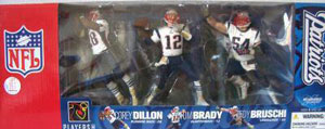 McFarlane Exclusive New England Patriots 3-Pack