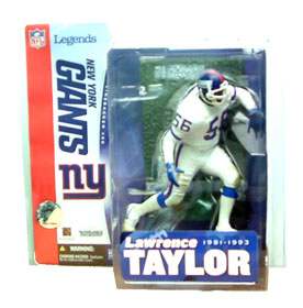 NFL Legends Series 1 - Lawrence Taylor White Jersey Variant