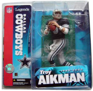 NFL Legends Series 1 - Troy Aikman - Blue Jersey Variant - Dallas Cowboy