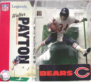 NFL Legends Series 2 - Walter Payton White Jersey Variant - Chicago Bear