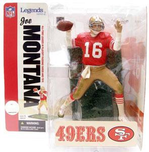 NFL Legends Series 2 - Joe Montana - 49ers