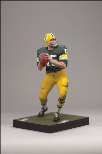 Bart Starr - Green Jersey - Packers