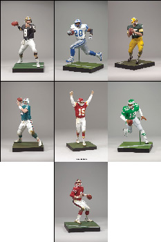 Mcfarlane NFL Legends Series 5 Set of 7