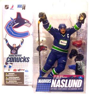 NHL Series 14 - Markus Naslund 2 Alternative Jersey Variant