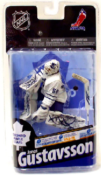 NHL 24 - Jonas Gustavsson - Maple Leafs - White Jersey Bronze Collectors Variant