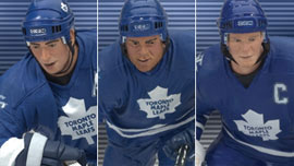 NHL 3-Pack: Toronto Maple Leafs - Mats Sundin, Tie Domi, and Tomas Kaberle
