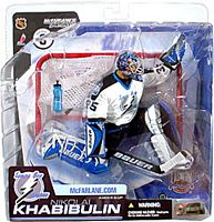 Nikolai Khabibulin Lightning White Jersey Variant