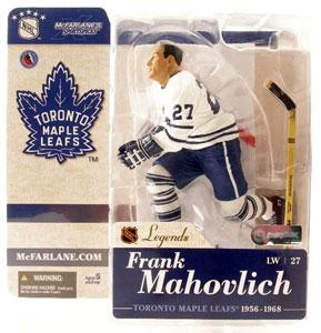 Frank Mahovlich White Jersey Variant
