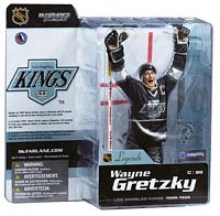 Wayne Gretzky 2 - Kings Black Jersey