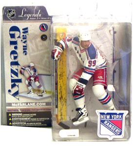 Wayne Gretzky 6 - New York White Jersey