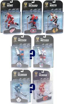 Mcfarlane Sports - NHL Legends 7 Set of 5[Random Messier,Gilmour]