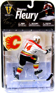NHL Legends 8 - Theo Fleury - White Jersey Variant