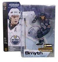 Ryan Smyth Series 4 - Edmonton Oilers Blue Jersey Variant
